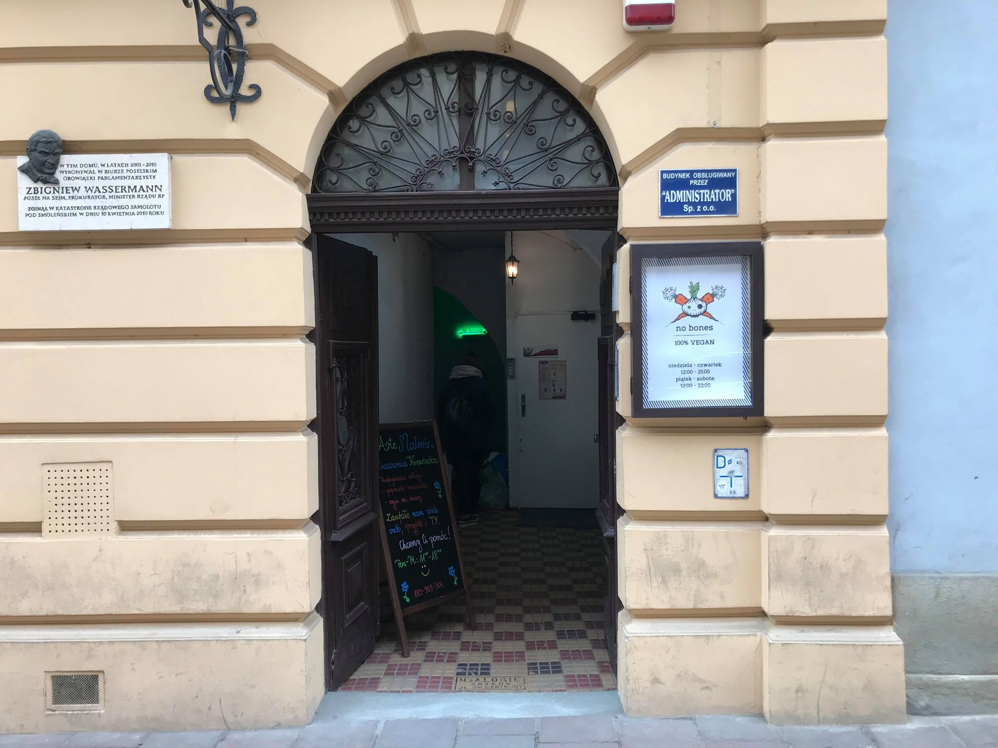 No Bones 100 Kuchnia Wegańska Na Starym Mieście Kraków